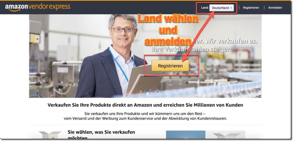 Vendor Express Amazon