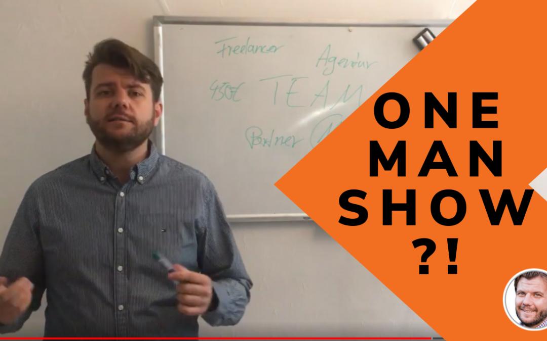 One Man Show oder Teambuilding? Hier ist, was ein Team für dein Business bedeuten kann…