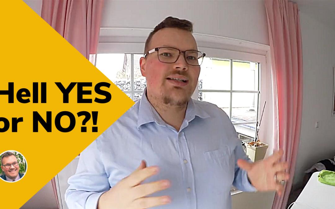 Hell YES or NO – Politik?! Wie Du den Fokus behältst und lernst NEIN zu sagen.