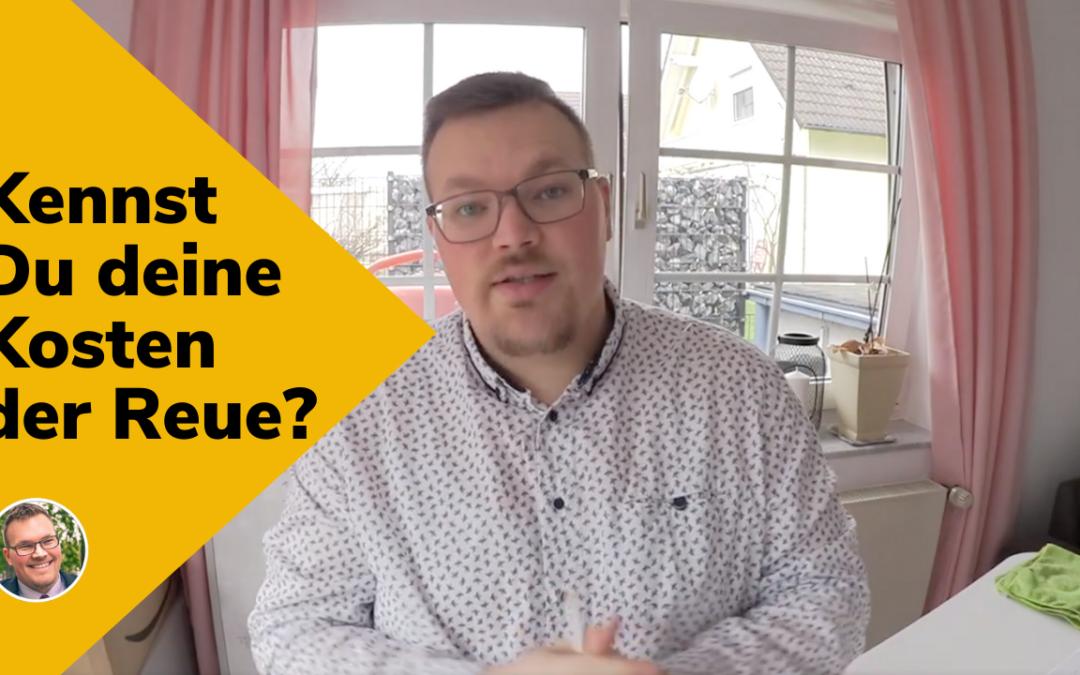 Kennst Du deine Kosten der Reue? Opportunitätskosten – was das ist und worauf Du achten solltest!
