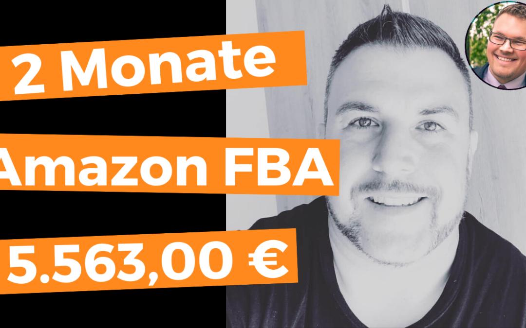 Wie Martin als kompletter Amazon FBA Anfänger in nur 2 Monaten über 5.563,00 € verdient hat – und wie du das genauso schaffst (auch ohne Vorerfahrung und ohne Vorkenntnisse!)